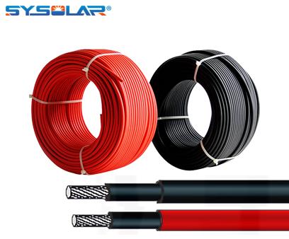 4mm solar cable EN50618 H1z2z2-K 1500v XLPE cable