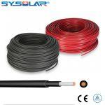Solar Cable 6mm TUV 2pfg 1169 1000V for solar wiring